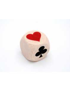 Thinking-beast dice for belote
