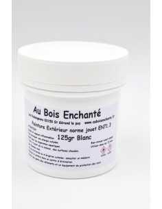 125 gr Peinture extérieur norme jouet EN71.3 Blanc