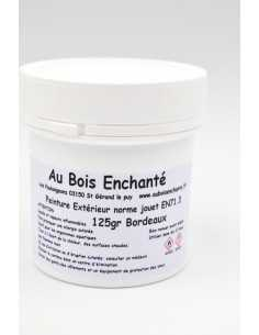 125g Outdoor paint standard toy EN71.3 Bordeaux