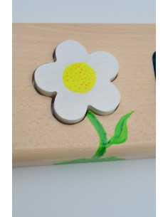 Prénom puzzle fleur
