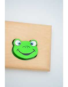 Frog puzzle first name