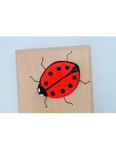 Ladybug puzzle first name