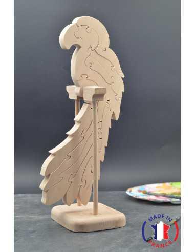 puzzle en bois - puzzle perroquet