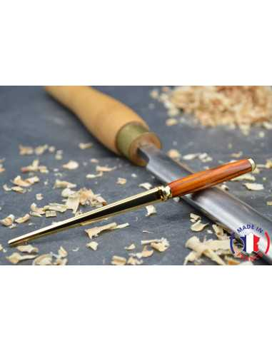 Ouvre lettre en bois de Cocobolo.