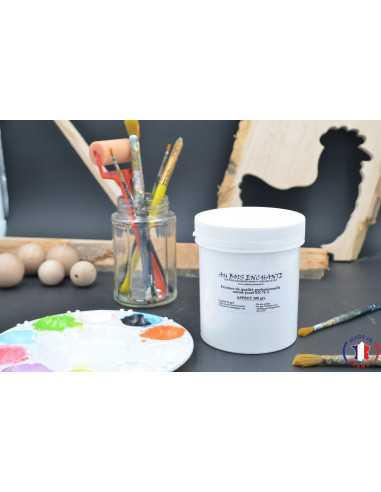 Apprêt blanc 500 gr norme jouet pour bois