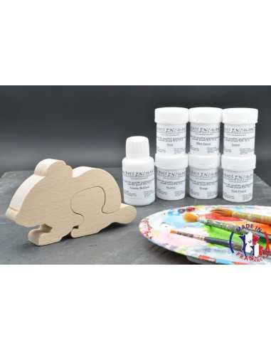 Pack Kit peintures + Boite à dent souris