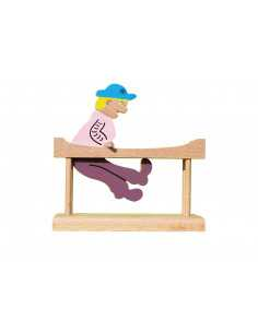 wooden toy - Gymnast