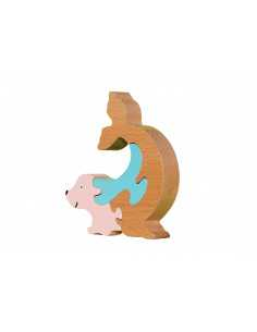 wooden puzzle - seal puzzle