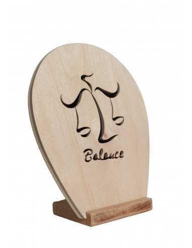 chantournés wooden painting - Sign of the Zodiac - balance