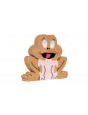 puzzle en bois - Puzzle grenouille