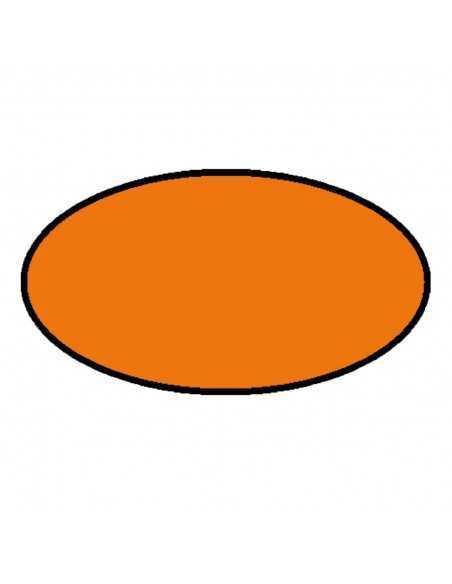 Peinture aérosol orange au norme jouet