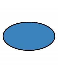 Peinture aérosol bleu claire au norme jouet