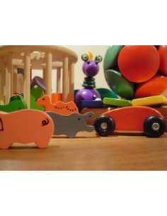 Toy standard orange aerosol paint
