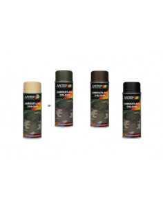 Peinture camouflage marron en aérosol (ral 8027)
