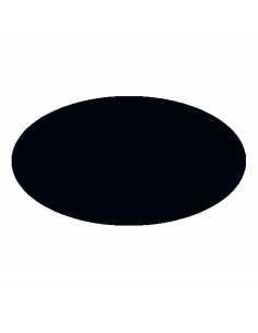 Peinture camouflage noir en aérosol (ral 9021)