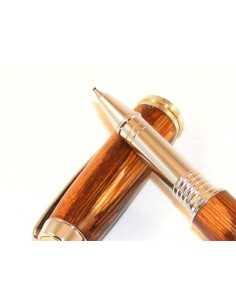 Parure de stylos en bois serpent de Guyane