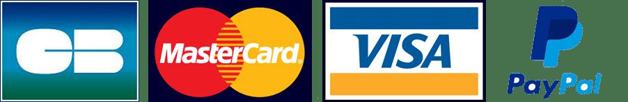 paiement cb mastercard visa paypal